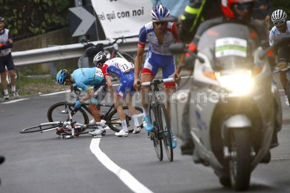 Il francese Pinot vince la Milano-Torino sul traguardo di Superga