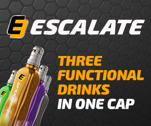 ESCALATE DRINK BANNER DX